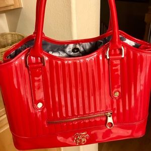 Ted Baker Red Patent Leather Purse